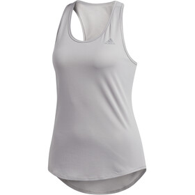 adidas Run It Top sin Mangas Mujer, multi solid grey